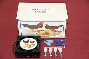 Circulated Air Fan Kit For The Little Giant hovabator farm Innovators Incubator