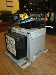 Ge Control Transformer 9t58k0507g30 0 300kva Pri 480v Sec 120v 60hz 1ph Used