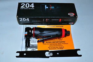 Astro Pneumatic Onyx Composite Body 1 4 90 Angle Die Grinder 20 000rpm 204