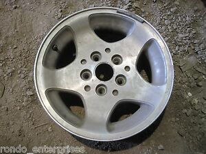 93 98 Jeep Grand Cherokee 16 X 7 5 Lug Bolt Aluminum Rim Wheel Oem W58