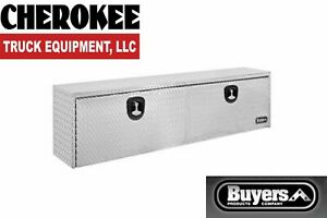 Buyers Products 1705140 Aluminum Underbody Toolbox 24 H X 24 D X 48 W