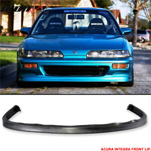 Fits 92 93 Acura Integra Jdp Style Poly Urethane Front Bumper Lip Spoiler Pu