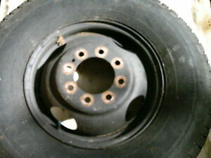F350 Ford Oem Steel 8 Lug 16 X 6 Rim For 1988 1997 1 Ton Good Used Wheel