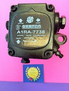 A1ra 7738 Suntec Sundstrand Waste Oil Heater Burner Pump 1725 Rpm New