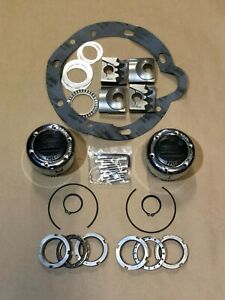 Np203 Transfer Case Part Time Conversion Kit With Locking Hubs Nut Conversion