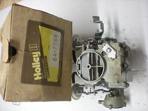 Holley Rebuilt Rochester 17056148 1975 1976 Buick olds pontiac 231 Engine