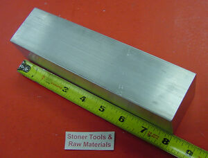 2 Pieces 2 X 2 Aluminum 6061 Square Bar 8 Long Solid T6511 New Mill Stock