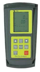 Tpi 712 Deluxe Flue Gas combustion Analyzer