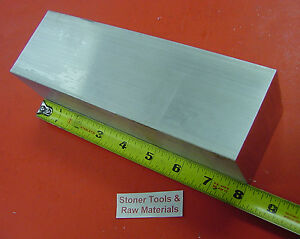 2 Pieces 2 1 2 X 2 1 2 Aluminum 6061 Square Bar 8 Long T6 Solid Mill Stock