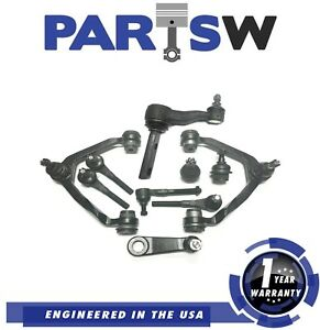 10 Pcs Kit Front Suspension Ford 97 03 Expedition F 150 4wd 1 Year Warranty