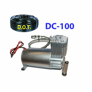 V Airbagit Dc100 200psi Air Compressor For Air Bag Suspension Horn System