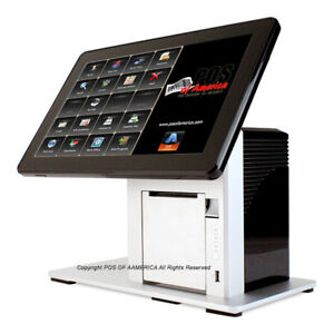Pos x Ion Tp5 14 All in one Restaurant Pos Printer W10 With Aldelo Pro New
