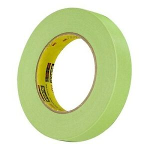 3m 26336 Scotch Green 233 Performance Auto Masking Tape 1 Inch 1 Roll