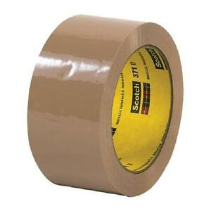 3m 371 1 9 Mil 2 X 55 Yds Tan Carton Sealing Packing Tape 36 Roll Case