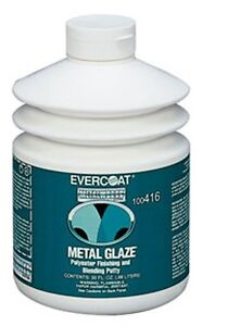 Fiberglass Evercoat 416 30oz Metal Glaze Autobody Filler Finishing Glazing Putty