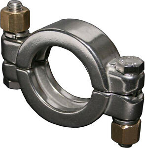 Stainless Steel Sanitary High Pressure Triclamp 6 304ss Tri Clamp