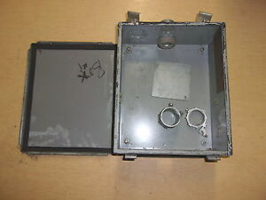 Used Hoffman Electrical Enclosure Box A 1210lp Free Shipping