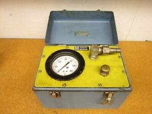 International Construction Equipment Inc Pneumatic Pressure Tester 0 60 Gauge