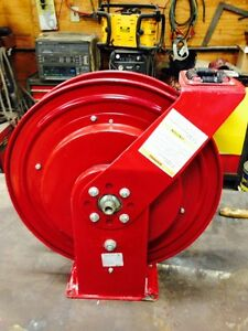 Alemite Hose Reel 7336 b Air water Heavy Duty Holds 50 Of 3 8 Hose