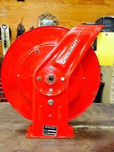 Reelcraft Air Hose Reel 2z864b Industrial Duty 300 Psi Holds 50 Of 3 8 Hose