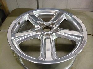 2008 2009 Ford Mustang 18 Polished Wheel Hollander 3707