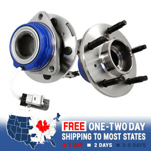 2 Front Left Right Wheel Hub Bearing Assembly For 2000 2001 Dodge Ram 1500 2wd