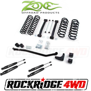 Zone Offroad 4 Jeep Grand Cherokee Wj 99 04 Suspension Lift Kit W Nitro Shocks