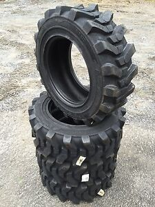 4 10 16 5 Hd Skid Steer Tires Camso Sks532 10x16 5 Xtra Wall for Bobcat