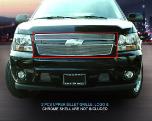 Billet Grille Front Upper Grill Fits 2007 2014 Chevy Tahoe Suburban Avalanche