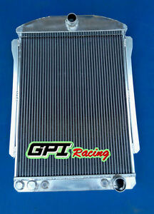 56mm Aluminum Radiator Chevy Car Street Rod Auto 1940 1941 41 40
