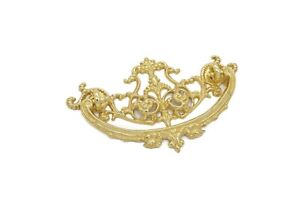 Antique Style Victorian Pull Drawer Pull 3 Cc Solid Cast Brass