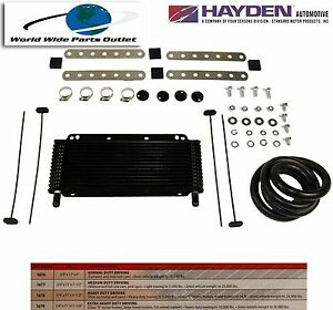 Automatic Transmission Oil Cooler Hayden 676 oc 1676 Plate And Fin Type