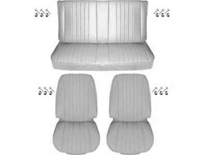 1968 Chevelle Standard Seat Upholstery Full Set Coupe White