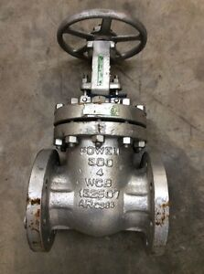 New Powell 3003 4 In 300 Steel Flanged Wedge Gate Valve