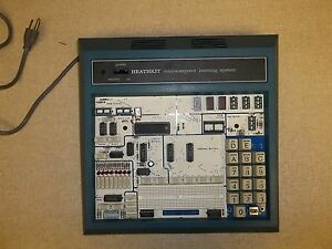 Heathkit Microprocessor Trainer Microcomuter Learning System Etw 3400 a