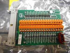Thermco Systems Svg 118870 002 Valve Interconnect Pcb W 36 Pin Terminal Block