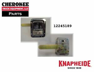 Knapheide 12245189 Stainless Steel Riveted Rotary Latch With Inside Handle