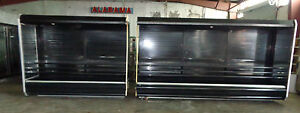Hussmann Dairy Deli Produce Cooler Open Display Case Merchandiser