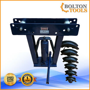 Bolton Tools 12 Ton Hydraulic Pipe Bender Hb 12