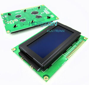 Lcd1604 16x4 Character Lcd Display Module Lcm Blue Blacklight 5v Arduino Good
