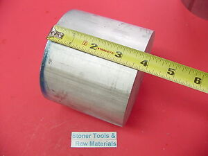 4 1 2 Aluminum 6061 Round Rod 3 7 Long T6511 4 50 Od Lathe Bar Stock