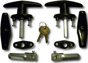 Truck Cap Topper Complete T handle Lock Set Bauer T311 2