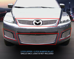 Fits 2007 2009 Mazda Cx 7 Cx7 Billet Grille Grill Combo Grill