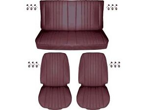 1968 Chevelle Standard Seat Upholstery Full Set Convertible Red