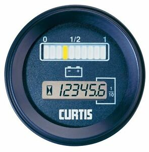 Curtis Instruments 802rb12bn0010 Series 12v Dc Battery fuel Gauge