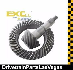 Richmond Excel Ford 8 8 10 Bolt 3 73 Ratio Ring And Pinion Gear Set Value Gear