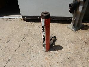 Spx Power Team C1510c Hydraulic Cylinder And 9596 Posi check Lowering Valve