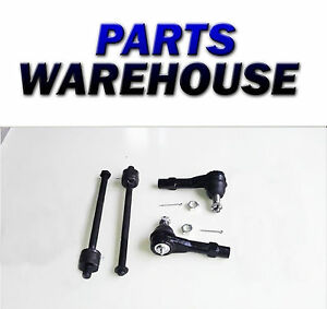4 Pc Front Steering Kit For Explorer B2300 Mountaineer Tie Rod Linkages