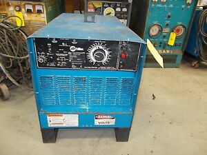 Miller Goldstar 600ss Arc Welder Power Source Smaw gtaw