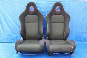 2004 04 Honda Civic Si Ep3 Hatch Oem Lh Rh Front Seats Pair Assy K20a3 9104